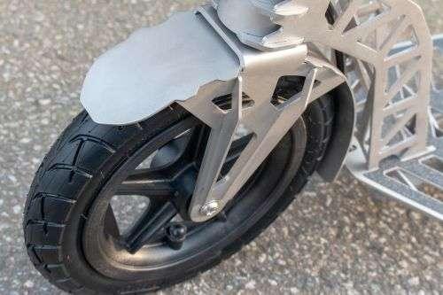 roue avant garde-boue trottinette hepros ultra air