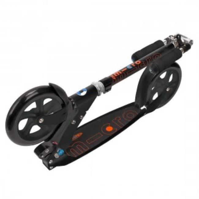 trottinette grande roue adulte Micro Black