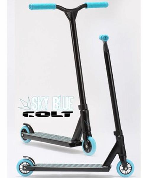 trottinette freestyle Blunt Colt bleu ciel