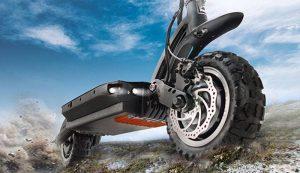 Dualtron Ultra pneus et suspensions améliorés