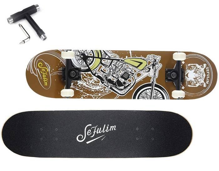 Sefulim skateboard débutant