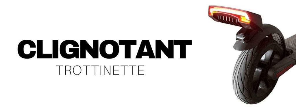 clignotant trottinette electrique
