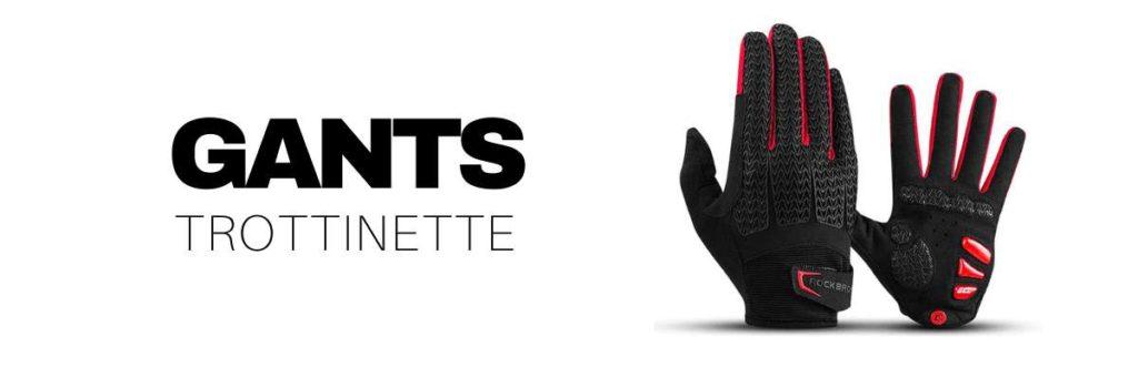 gants trottinette électrique