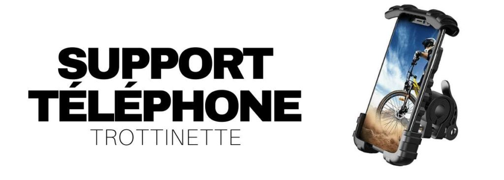 support telephone trottinette